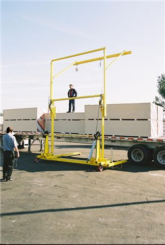 D C I S Inc Fall Protection For Trucks Free Standing
