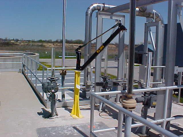 Material Handling Crane Forward Repair System : Davit cranes material handling