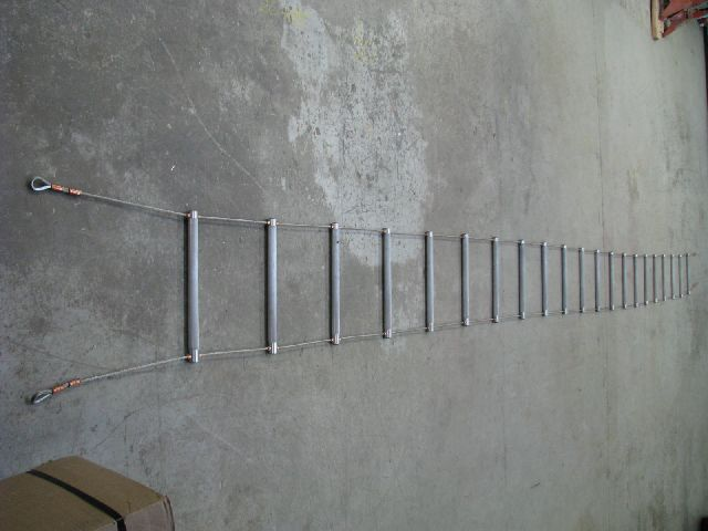 DC.WRL-20/15: 20 foot wire ope ladder 15 inches wide DCIS Wire ...